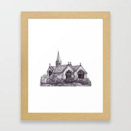 All Saints Parish Church Framed Art Print