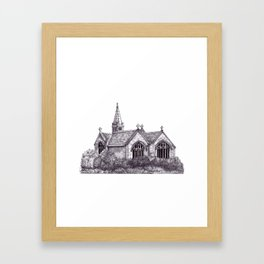 All Saints Parish Church Framed Art Print