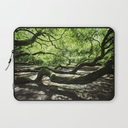 The wings of a mighty angel. Laptop Sleeve