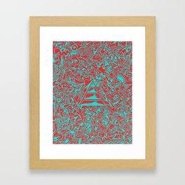 Incoherent Echo Framed Art Print
