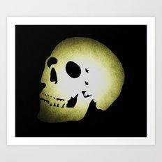 Skully Art Print