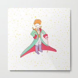 Little Prince Metal Print