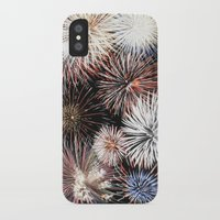 fireworks iPhone & iPod Cases featuring Fireworks by Urlaub Photography