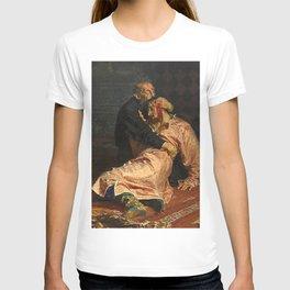 IVAN THE TERRIBLE AND HIS SON IVAN - ILYA REPIN  T-shirt