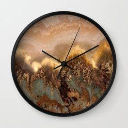 Idaho Gem Stone 19 Wall Clock