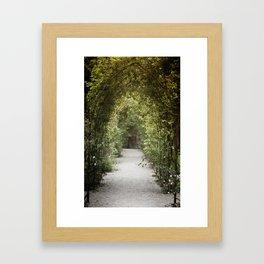 In to Framed Art Print