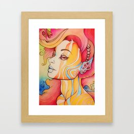 Water Based Framed Art Print