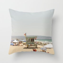 all day 4th of July in California Throw Pillow