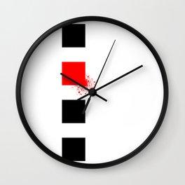 Don't Lose Control (Square) Wall Clock
