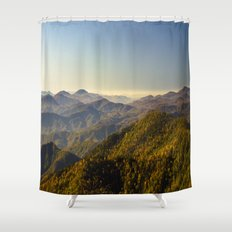 As far as the eye can see...  Shower Curtain