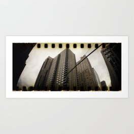 Architectural Abstract XI Art Print