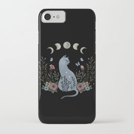 Cat on the Hill iPhone Case