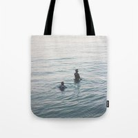suits Tote Bags featuring the suits by KNIVESINMYEYES