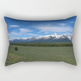 Beautiful Wyoming Landscape Rectangular Pillow