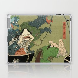 The Greedy Old Woman with a Box of Demons Laptop & iPad Skin