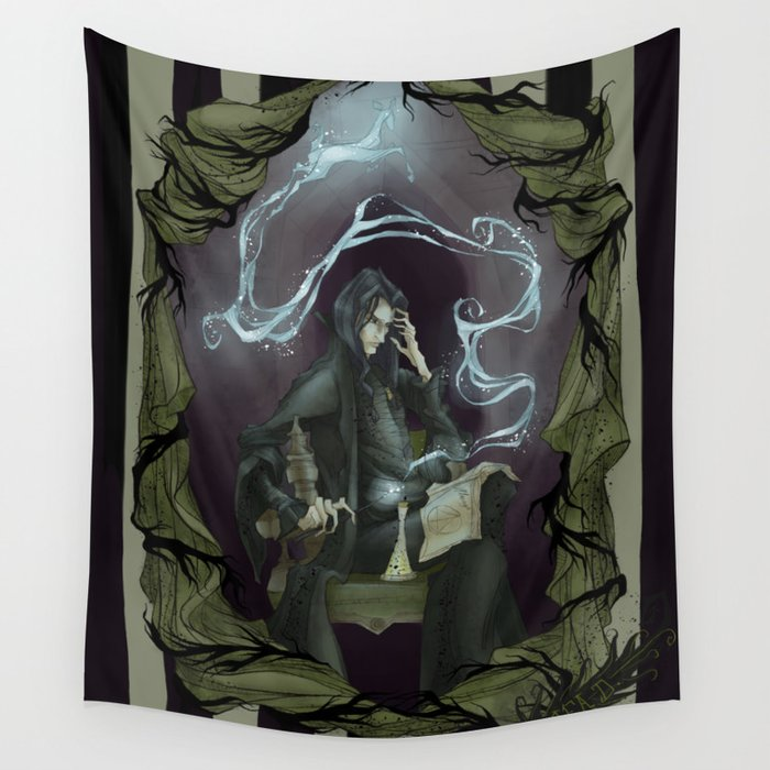Tragically Ever After: Severus Snape Wall Tapestry
