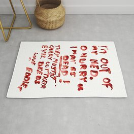Dr. Scott's Note Rug