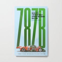 M 787B Tribute Metal Print