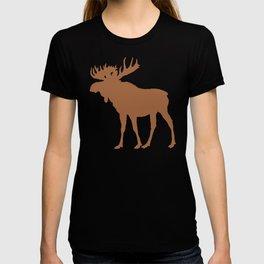 Moose: Brown T-shirt