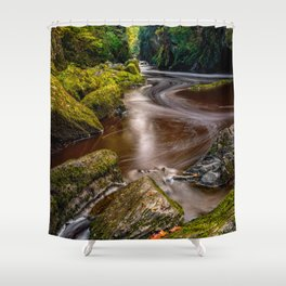 Fairy Glen Gorge Shower Curtain