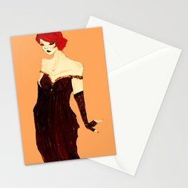 widow's bite Stationery Cards