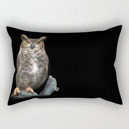 Superb Owl Sunday Rectangular Pillow
