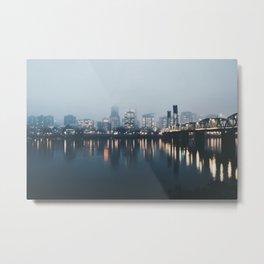 Portland II Metal Print
