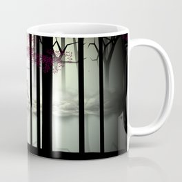 Girl Running in the Forest Coffee Mug