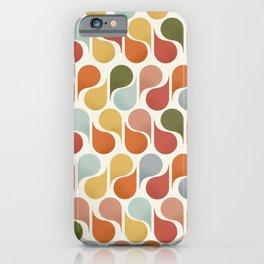 retro pattern no4 iPhone Case
