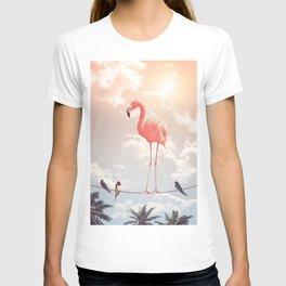 FLAMINGO & FRIENDS T-shirt