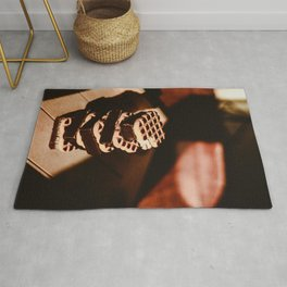 Delicious chocolate souffle cookies Rug