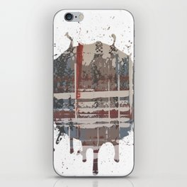 Waterlogged -  splash iPhone Skin