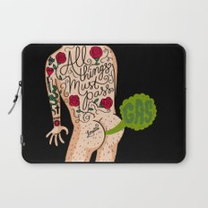 All Things Must Pass (gas) Laptop Sleeve