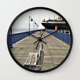 Soo City Dock Wall Clock