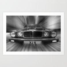 XJ 6 Art Print