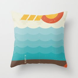Lake of the Ozarks Throw Pillow