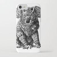 koala iPhone & iPod Cases featuring Koala by BIOWORKZ