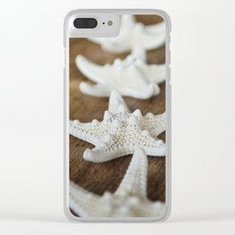 starfish 2 Clear iPhone Case