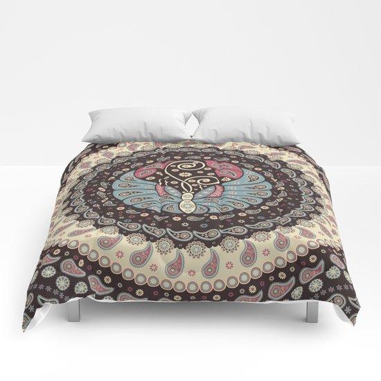 Butterfly Mandala Comforters