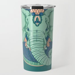 An Elephant Never Forgets Travel Mug