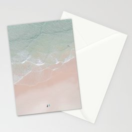 Surf yoga Stationery Cards