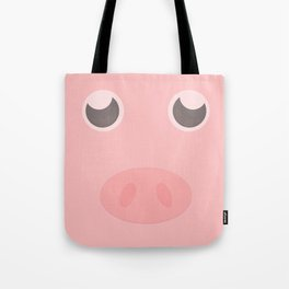 Look how cute this pig is Tote Bag