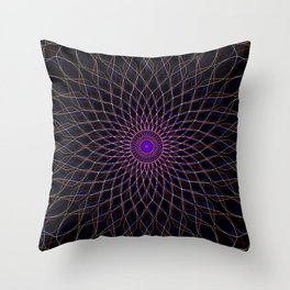 MandalaCR7 Throw Pillow