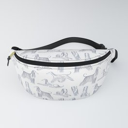 Afghan Hounds Pattern Fanny Pack