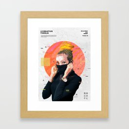 Creative ninja Framed Art Print