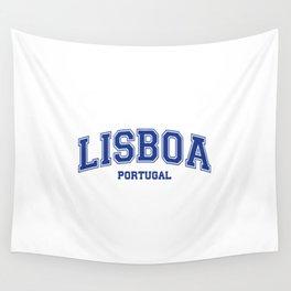 Lisboa Portugal Wall Tapestry