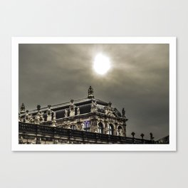 Dresdner Zwinger Canvas Print