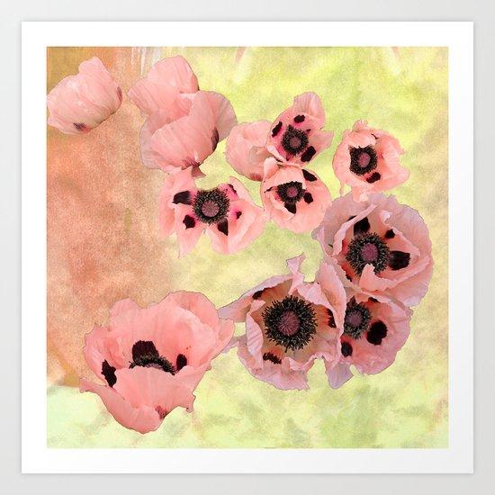 Poppy fever Art Print