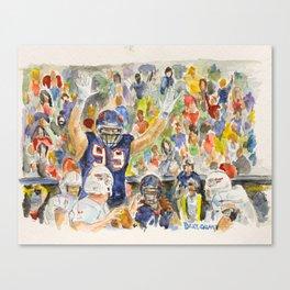 JJ Watt Football Player Canvas Print