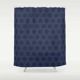 """tenugui""""kagome"""" Shower Curtain"""